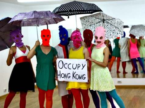 Peter Gabriel, Pussy Riot, Among Artists Supporting Occupy Hong Kong
