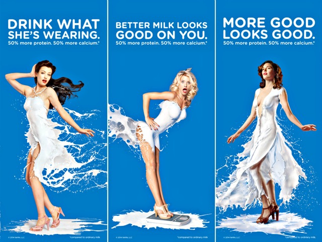 Coca-Cola Under Fire for 'Sexist' Milk Ads Featuring Pin-Up Girls