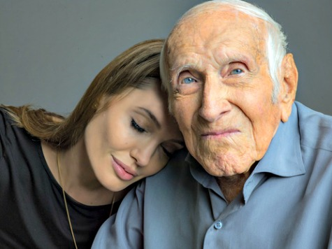 Christian War Hero Inspired Angelina Jolie to 'Pray for a Miracle' on Set of 'Unbroken'