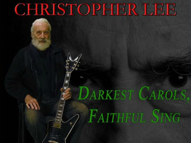 Sir Christopher Lee Releases Annual Heavy Metal Christmas Song