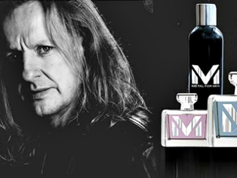 Former Judas Priest Guitarist Flaunts New Line of Men's Fragrances