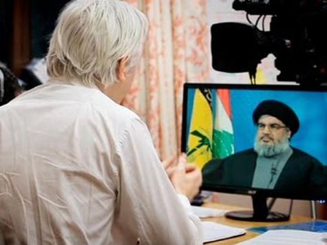 Assange Allows Hezbollah Leader to Parrot Russian Propaganda