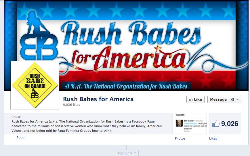 Limbaugh Launches 'Rush Babes for America'