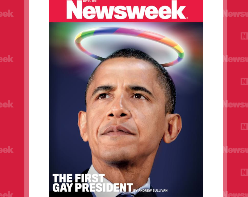 Desperate Newsweek Embarrasses President, Lies to America