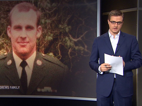 Chris Hayes Uncomfortable with Calling Troops 'Heroes;' Quite Comfortable Exercising Rights They Protect
