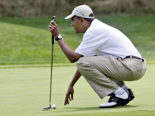 NY Times White House Reporter: Obama Doesn't Like Camp David Because There Is 'No Golf'