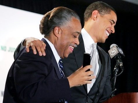 Media Ties Romney to Trump But Not Sharpton to Obama