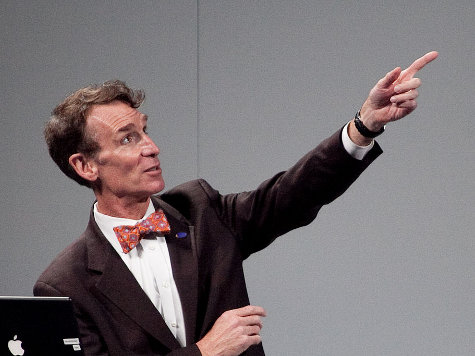 Conservatives Beating Bill Nye the Global Warming Guy, But Obama Soon to the Rescue