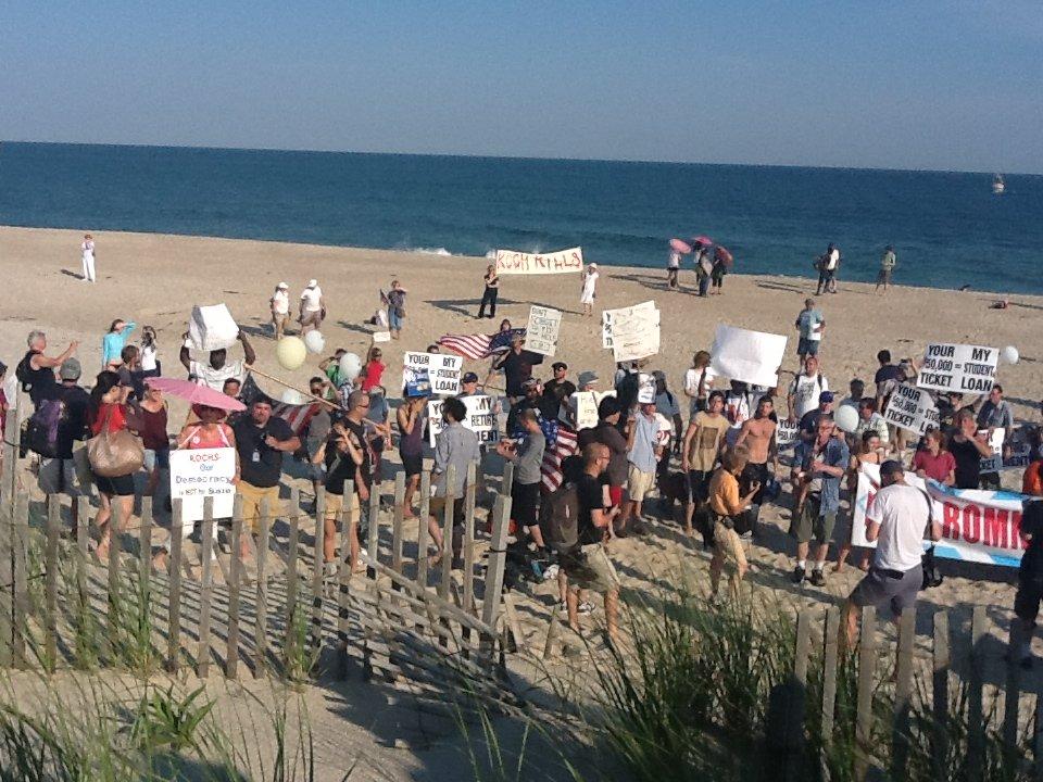 CNN's Velshi Hypes Failed, Far-Left Anti-Romney & Koch Brothers Protest