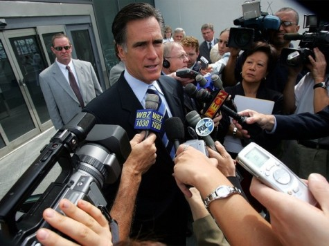 Politico Reveals Romney Press Corps as Partisan, Petty, and 'Bitter'