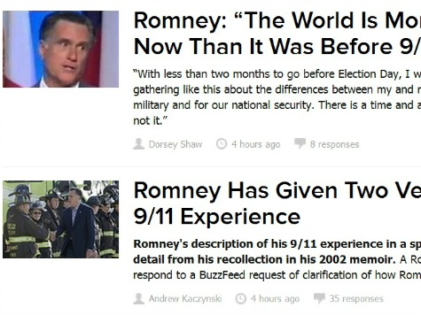How BuzzFeed Dedicated 9/11 to Non-Stories
