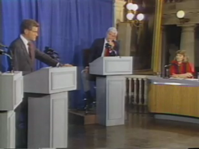 Flashback: Moderator Raddatz Stunned Democrat John Silber's Campaign for MA Governor in 1990 Debate