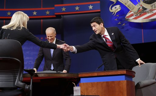 By the Numbers: Moderator Raddatz Attacked Ryan 9 Times, Biden Once