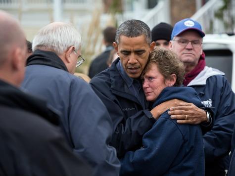 CBS Praises Obama for Post-Sandy Visit, Attacked Bush for Same with Katrina