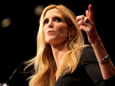 Coulter Jokes, Provokes at USC Republican-Tea Party Event
