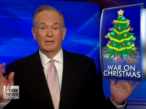 AP Uses Media Matters Talking Points to Attack O'Reilly, 'War on Christmas' Meme