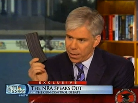 Report: NBC's Gregory Refused Permission to Display High Capacity Magazine