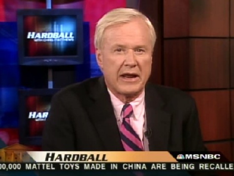 Chris Matthews: US Like 'Third World Nation' On Election Laws