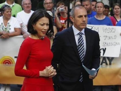 Drama Queen Lauer 'Freaked Out' Over Ann Curry Fans' Hostility
