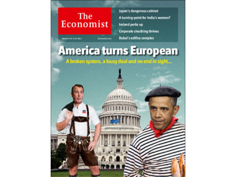 Obama Endorsers at The Economist Lament America 'Turning European'