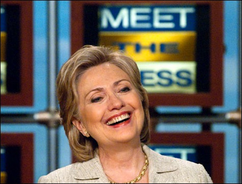 Hillary Didn't Mind Going On Sunday Show To Do Victory Lap On Libya