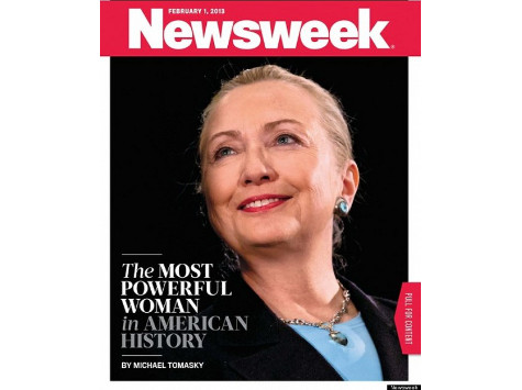 Feb. 2013: Newsweek Goes All-In for Hillary 2016
