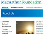 MacArthur Foundation: $100k for Ideas to Make Government Bigger