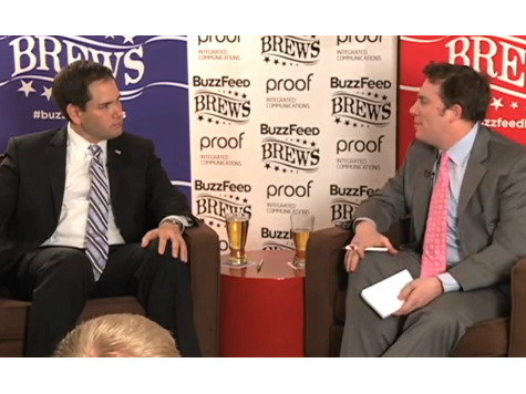 BuzzFeed Plays Nice with Rubio, Attacks Once Back Turns