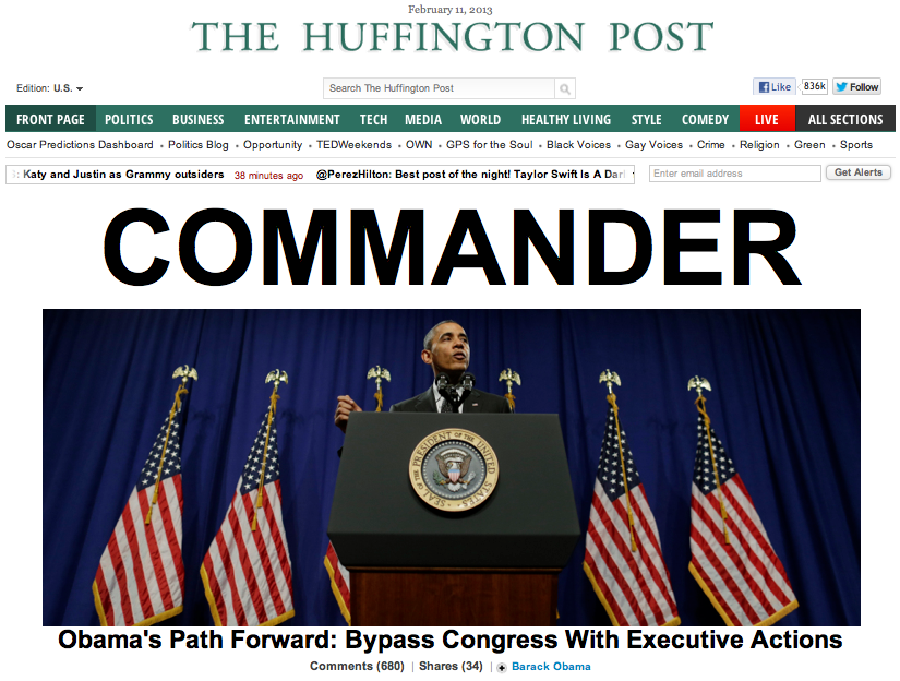 Left-Wing Lickspittles: How the Huffington Post is Aiding Obama's Benghazi Cover-Up