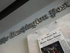 'WaPo' Woes: Advertising Plummets 12%, Circulation 8.6%