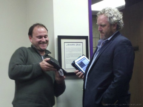 Joining Andrew Breitbart in the Scrum