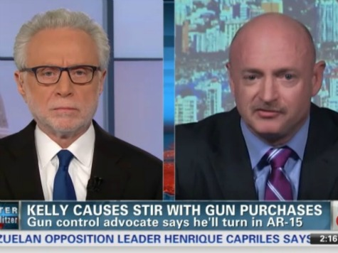 Mark Kelly to CNN: Plan Was to Hand Over AR-15 All Along