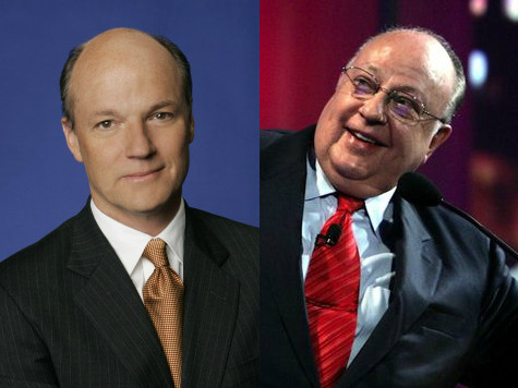 Fox's Roger Ailes, MSNBC's Phil Griffin Trade Barbs