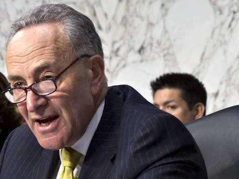 Shouting Match Erupts After Schumer Parrots Media On Immigration, Boston Bombing