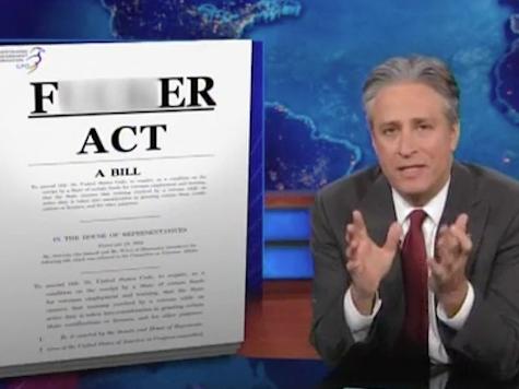 Jon Stewart Pummels Congress For Gutting Insider Trading Law