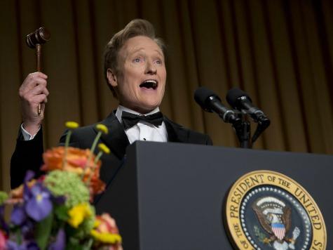 WHCD: Conan O'Brien Skewers CNN's Poor Ratings