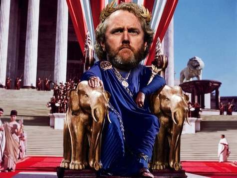 Vanity Fair Depicts 'Righteous Fighter' Breitbart as 'American Caesar'