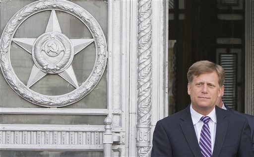 US Ambassador Summoned by Russian Foreign Ministry