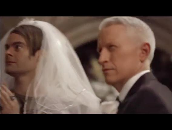 CNN's Cooper 'Marries' SNL's Stefon In Weekend Update Sketch