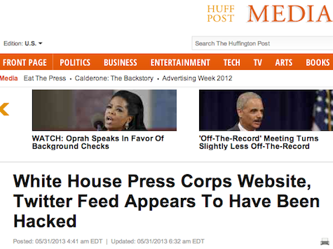 Huffington Post Fooled By Fake White House Press Corps Site
