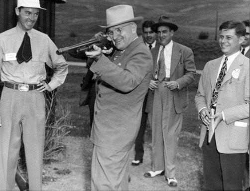 The Nation Invokes Truman for Gun Control–But He Loved Guns & the NRA