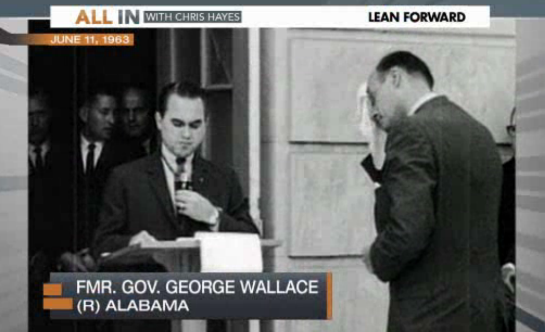 MSNBC: Gov. George Wallace Was a Republican
