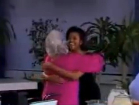 FLASHBACK VIDEO: Paula Deen Embraces Michelle Obama, Compares Her to Jackie O