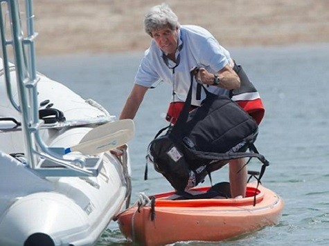 MSM Litmus Test: State Department's Kerry Yachting Denial