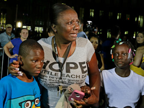 NYT Leads Zimmerman Acquittal Coverage with Crying Black Mother and Two Children