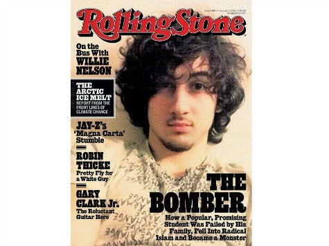 Celebs Decry Rolling Stone Putting Alleged Terrorist on Front Cover