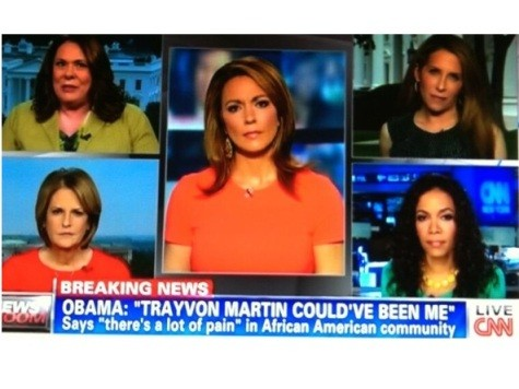 CNN on Obama's Trayvon Statement: 'Wow! Stunning! Important!'