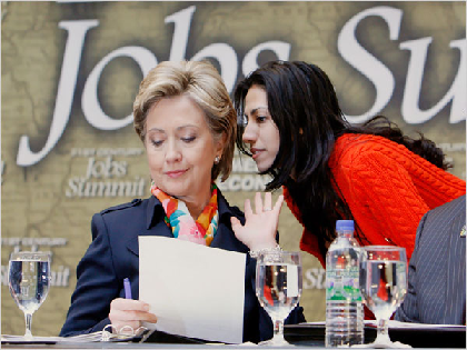 What Would if be Like if Huma and Hillary Were Emailing?