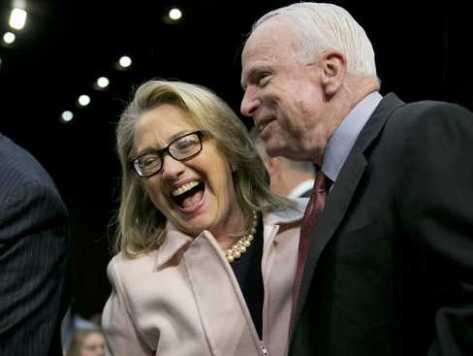 McCain: Hillary a 'Rock Star,' Fox News 'Schizophrenic'