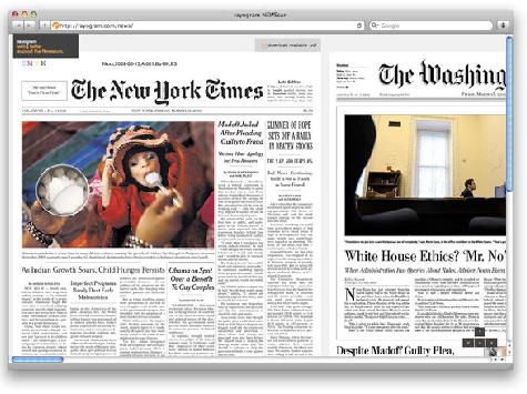 Journalism Students Ditch Print